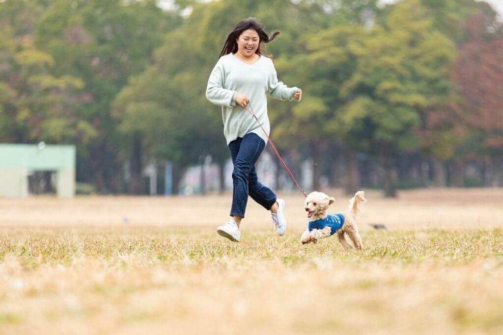愛犬との公園撮影会2021春